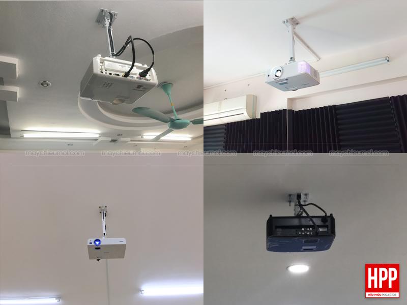 Lắp đặt máy chiếu treo tường treo trần nhà tại Bình Dương - Hữu Phúc Projector