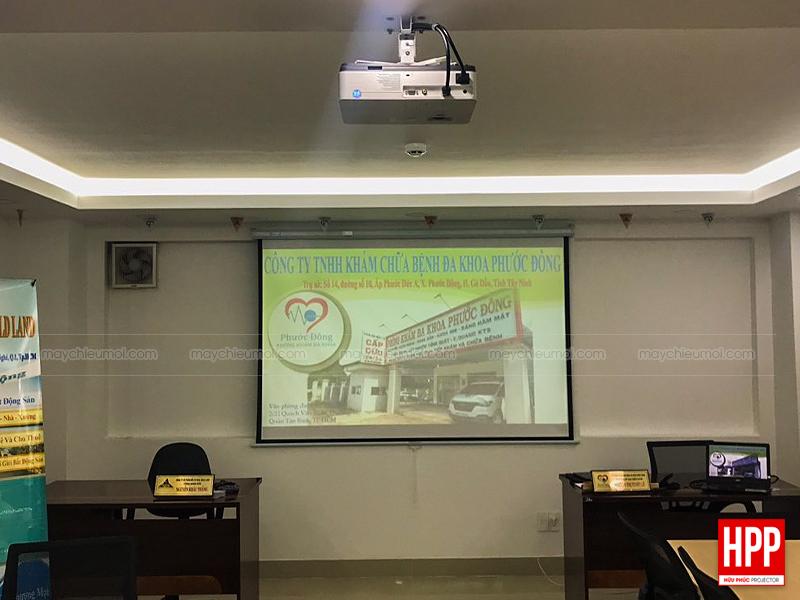 Lắp máy chiếu phòng họp, lớp học tại Bình Dương - Hữu Phúc Projector