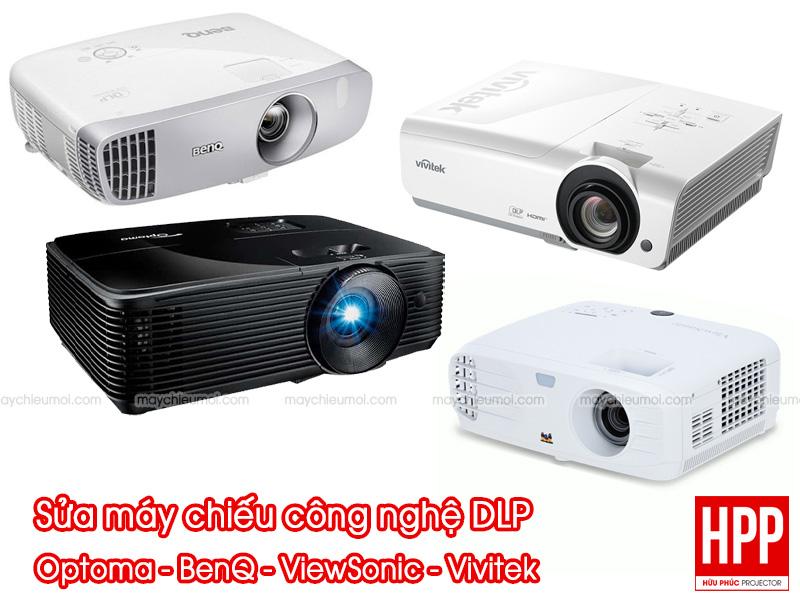 Sửa máy chiếu Optoma - BenQ - ViewSonic - Vivitek